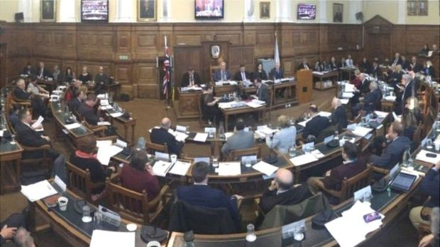 Northamptonshire County Council meeting