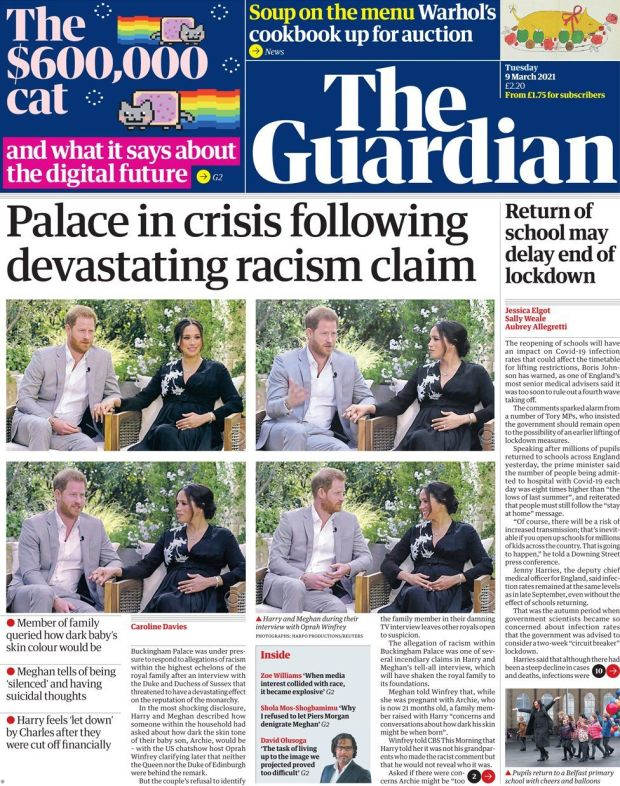 The Guardian 9 March