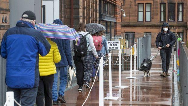 Glasgow voters