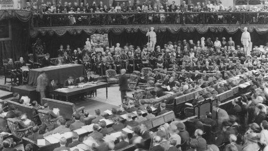 The first Dáil Éireann (Irish Parliament) met during the Irish War of Independence