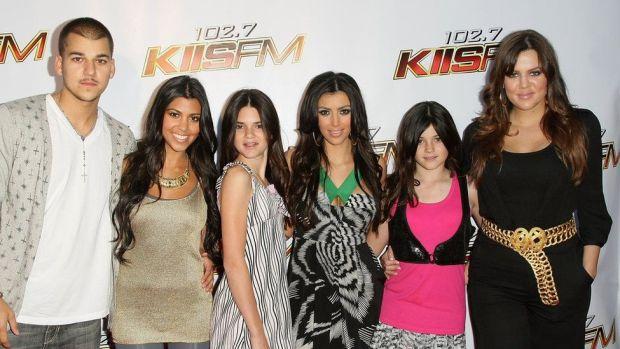 Rob, Kourtney, Kendall, Kim, Kylie and Khloé
