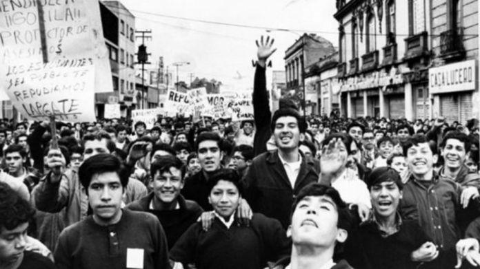 Resultado de imagen para politecnico movimiento estudiantil del 68