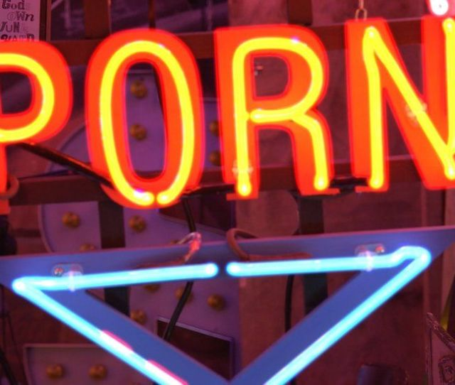 Neon Porn Sign