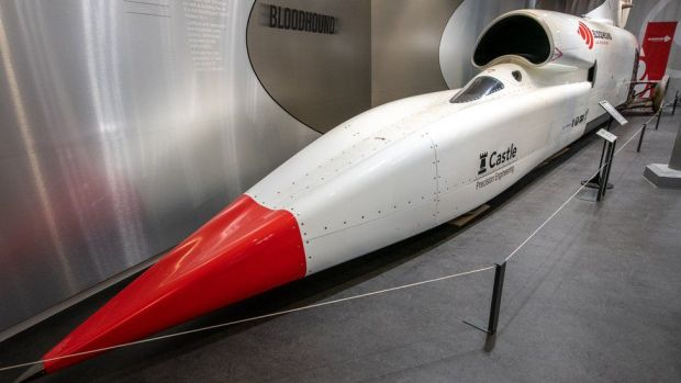 Bloodhound at Coventry Museum