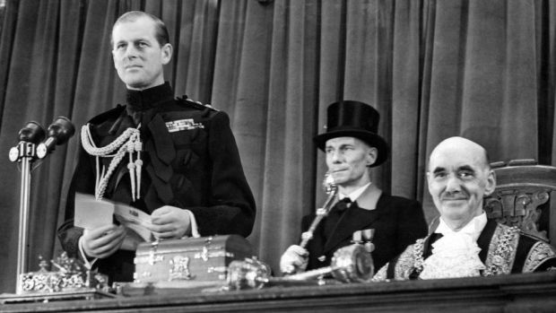 The Duke of Edinburgh was awarded the Freedom of the City of Cardiff on 2 December 1954