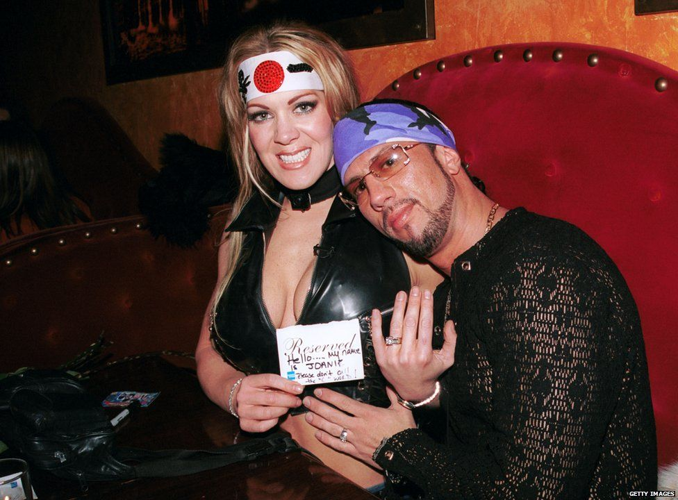Chyna and Sean Waltman