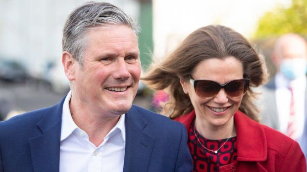 Keir and Victoria Starmer