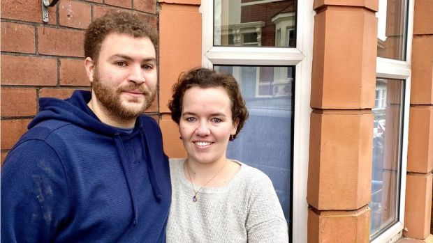 Dunkerry Road residents Alasdair and Amy