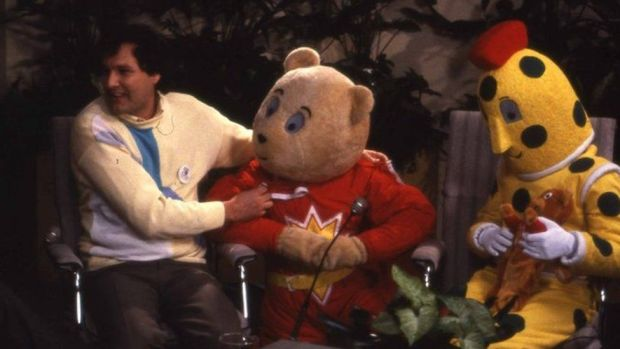 SuperTed appeared on the 1985 Children in Need show with Spotty