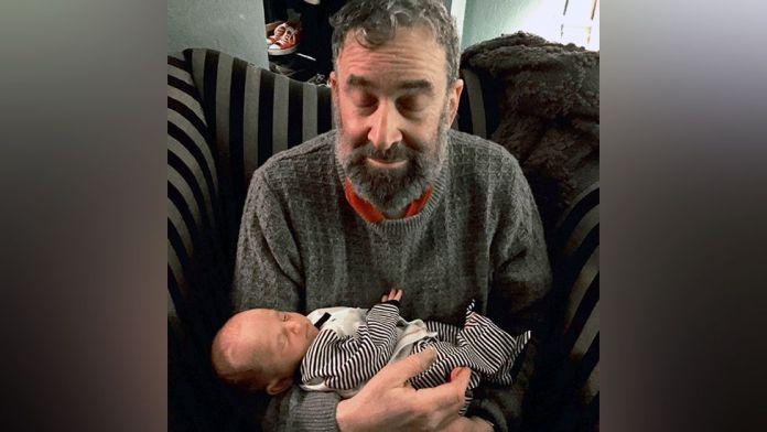 Ira Alterman with his grandson Colin