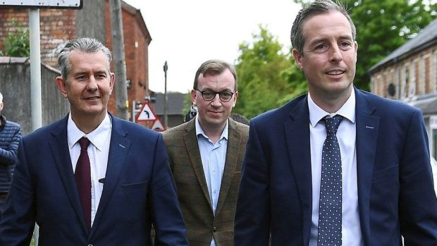 Edwin Poots, Christopher Stalford, Paul Givan