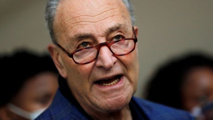 Chuck Schumer is Senate majority leader as well as senator for New York