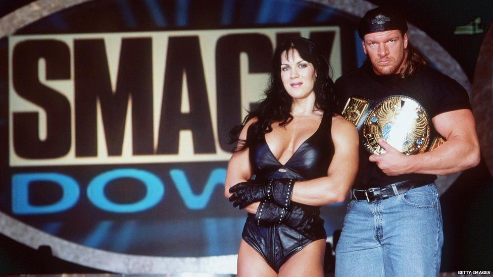 Chyna and Triple H