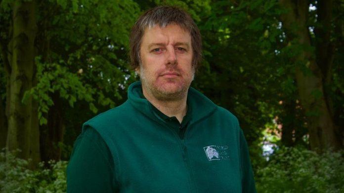 World Land Trust's Dan Bradbury