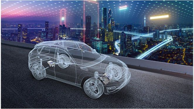LG has a joint venture with automotive supplier Magna International to make parts for electric cars.