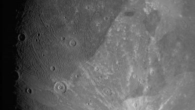 شاهد صور قريبة لقمر المشتري