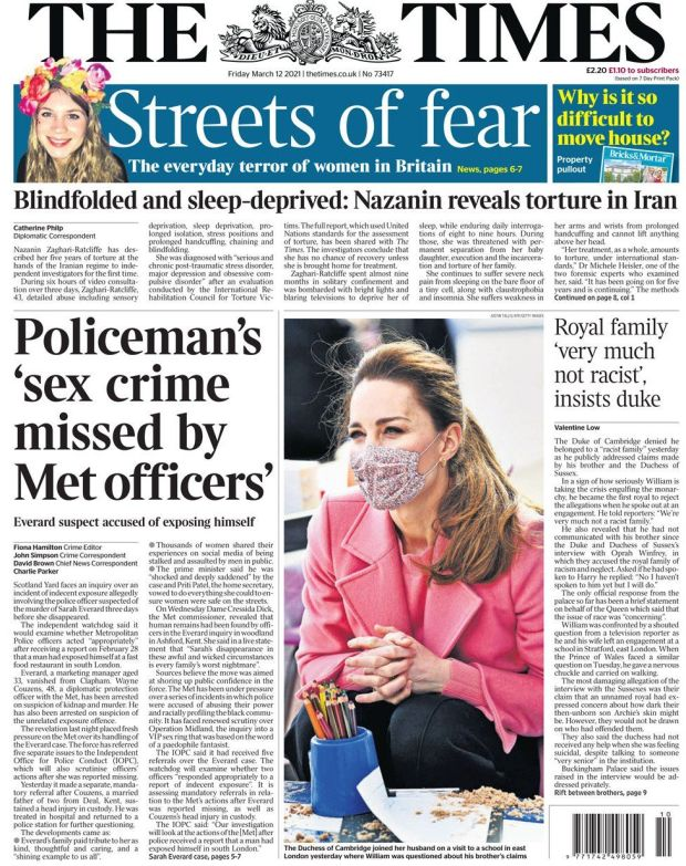 The Times 12 March