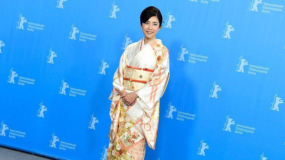 Japanese actress Yuko Takeuchi