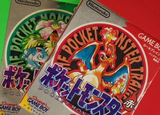 Game boy Pokemon games