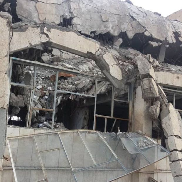 A photo taken by Cija at the Raqqa General Intelligence Directorate