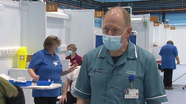 Berwyn Owen, Betsi Cadwaladr University Healthboards's chief pharmacist
