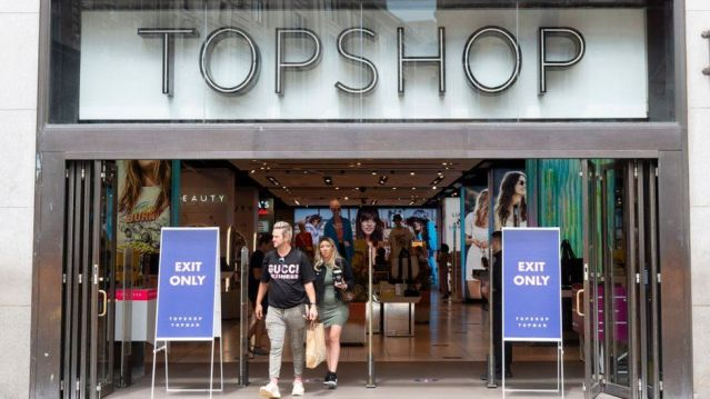 Topshop owner's collapse is 'inevitable' - BBC News