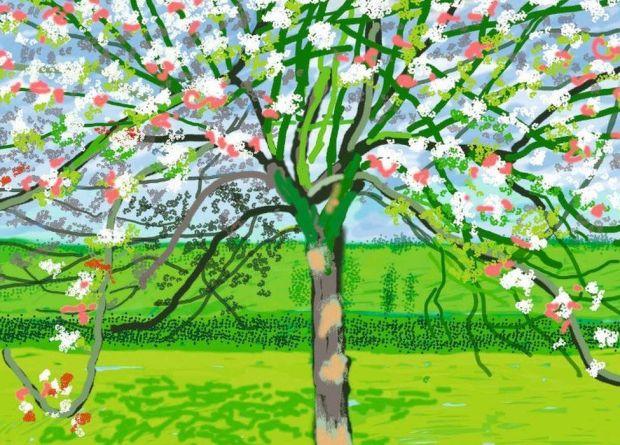 David Hockney art