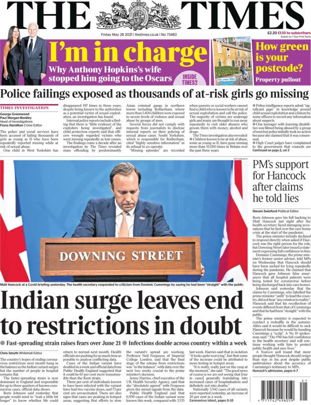 Times 28 May