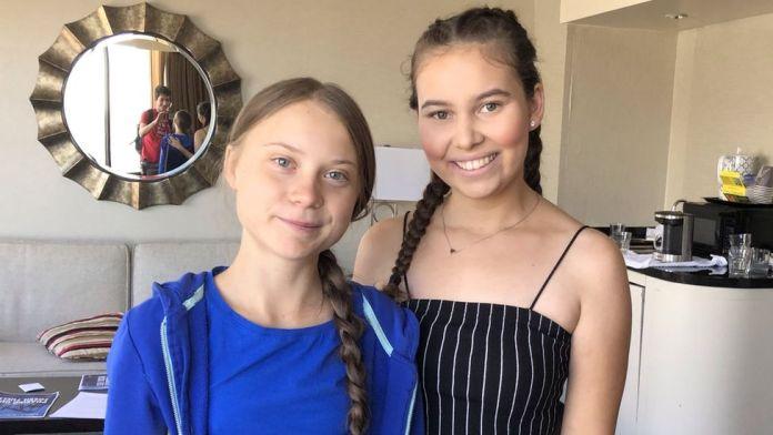 Nalleli Cobo and Greta Thunberg