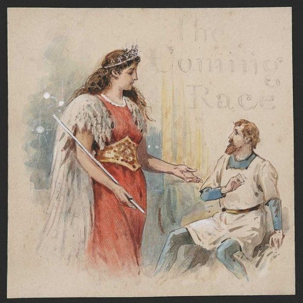 Illustration of Vril-ya