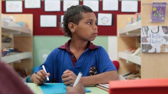 Dujuan Hoosan in class
