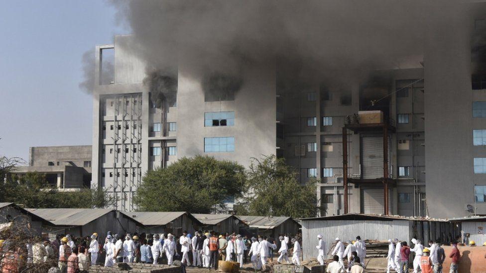serum institute fire at world s