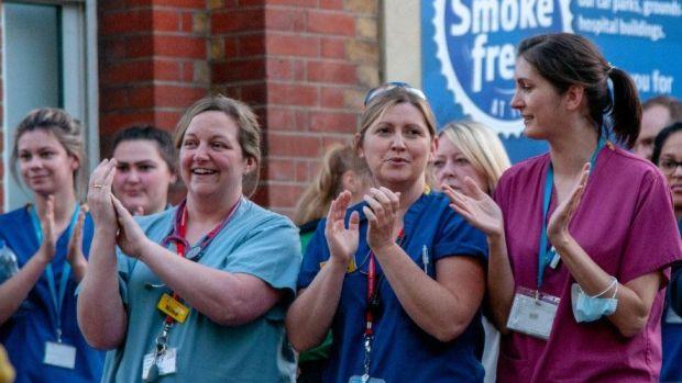 Staff at Lewisham hospital