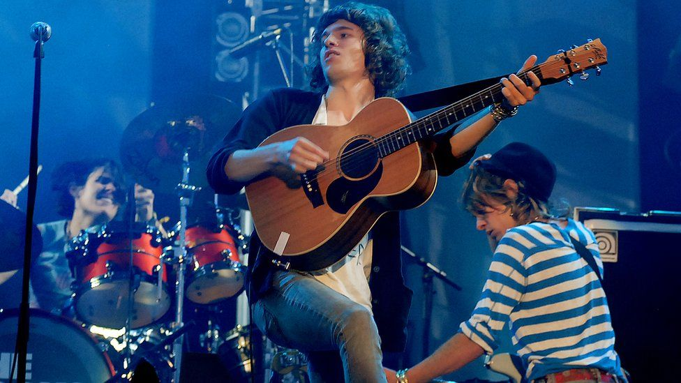 Image result for the kooks glastonbury 2008
