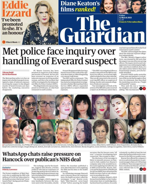 The Guardian 12 March