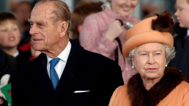 Queen Elizabeth ll and Prince Philip at the royal opening of the Senedd in Cardiff Bay on 1 March, 2006