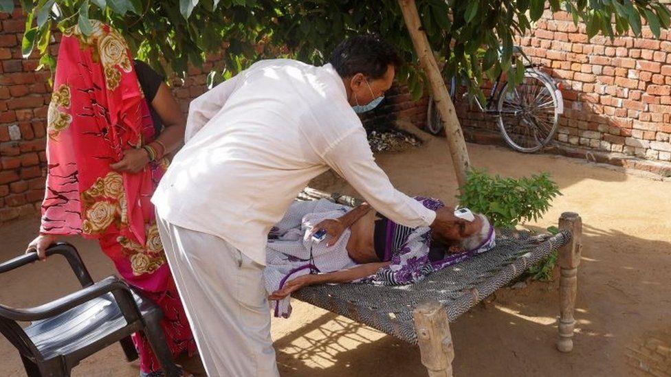 Covid patient in Uttar Pradesh