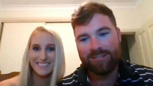Daniel Nixon and Ashleigh Stewart were due to get married in Northern Ireland but will now marry in Australia