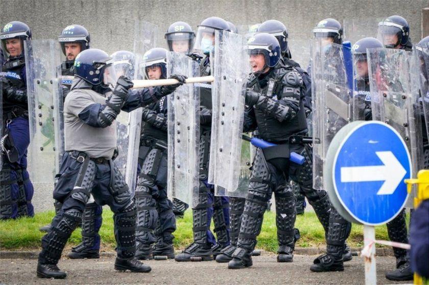 COP26 police training