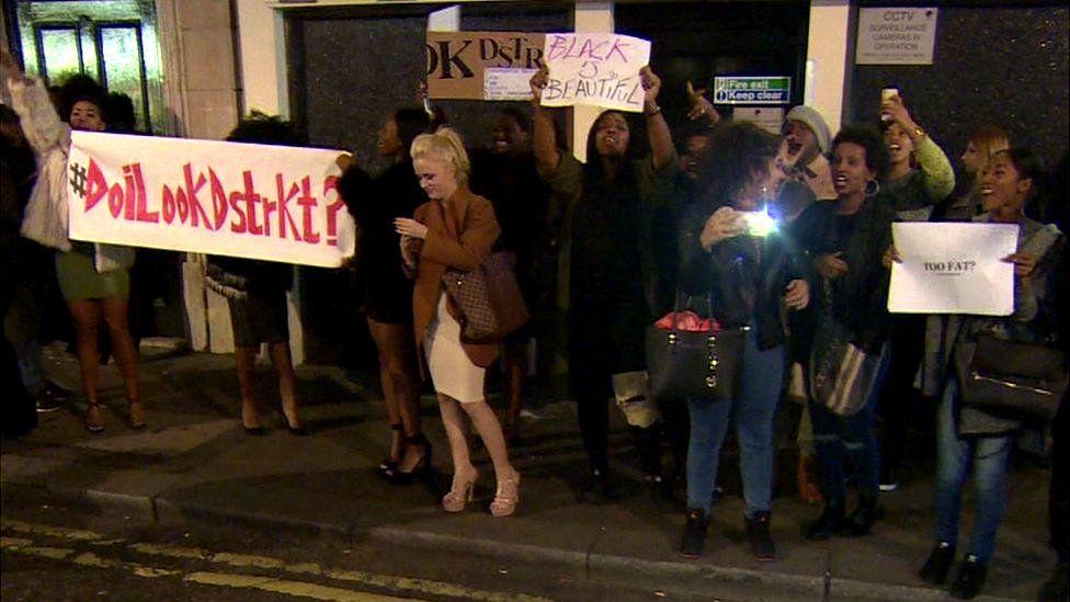 protests at DSTRKT