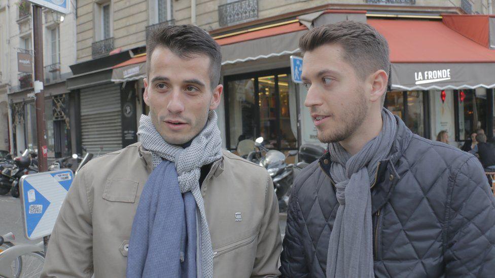 Baptiste and Anthony