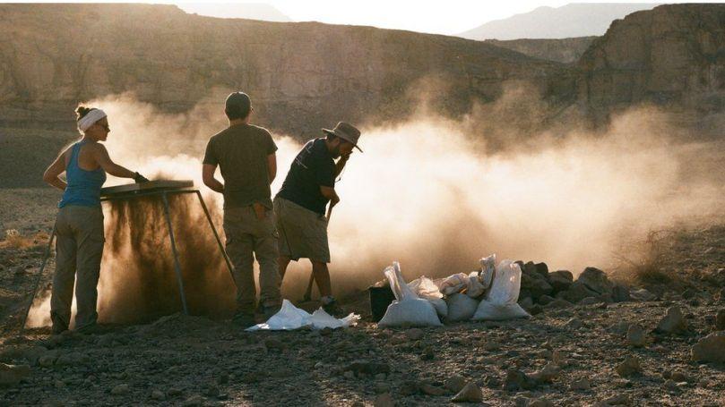 Excavation à Timna