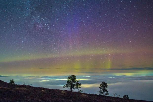 Aberdeenshire aurora