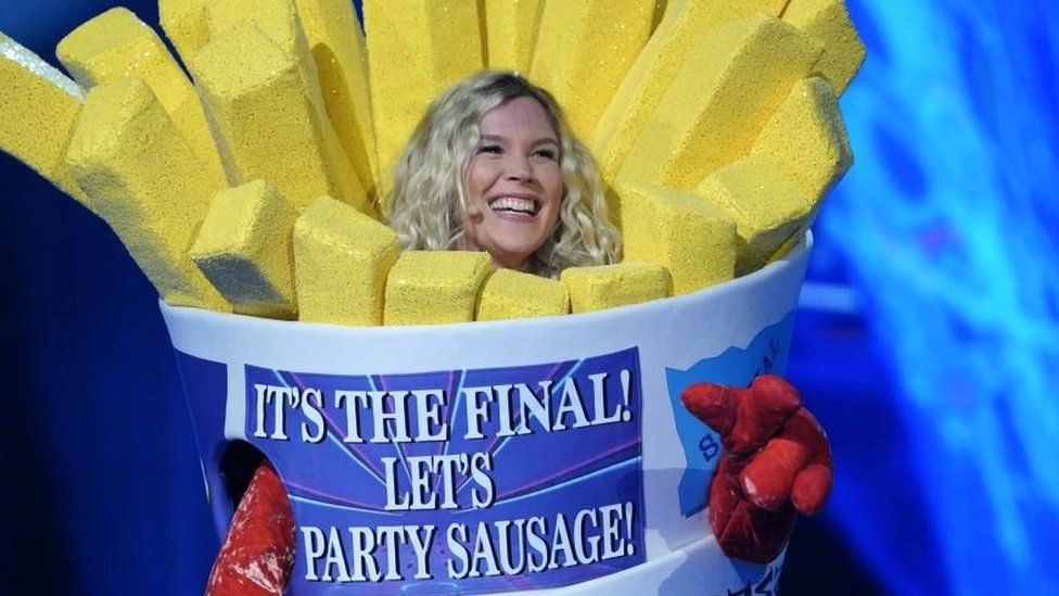 Joss Stone unmasked as Sausage