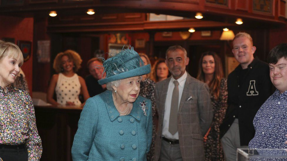 The Queen at the Rovers