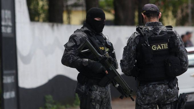 Image result for Brazilian police forces killed 11 criminals in a deadly shootout in Sao Paulo