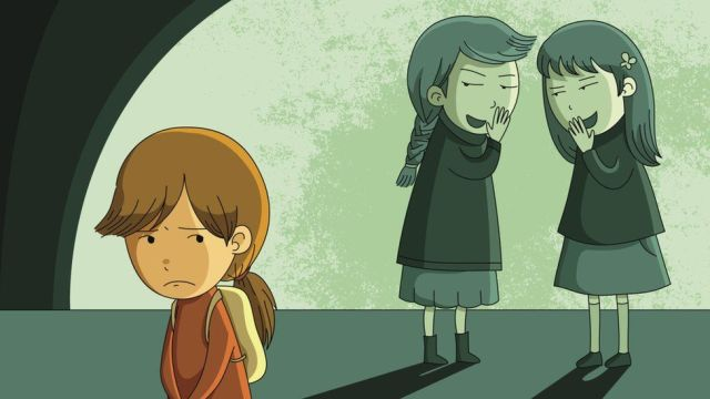 Image result for being bullied cartoon