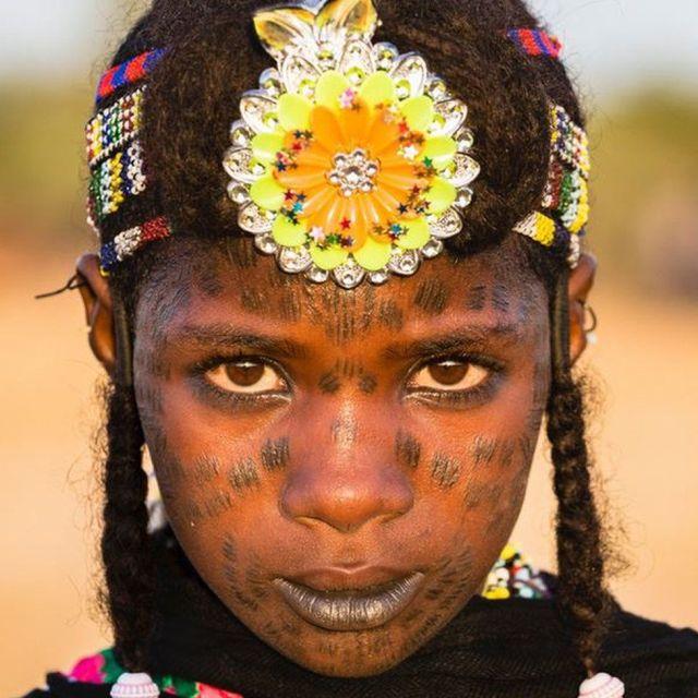 Wodaabe girl