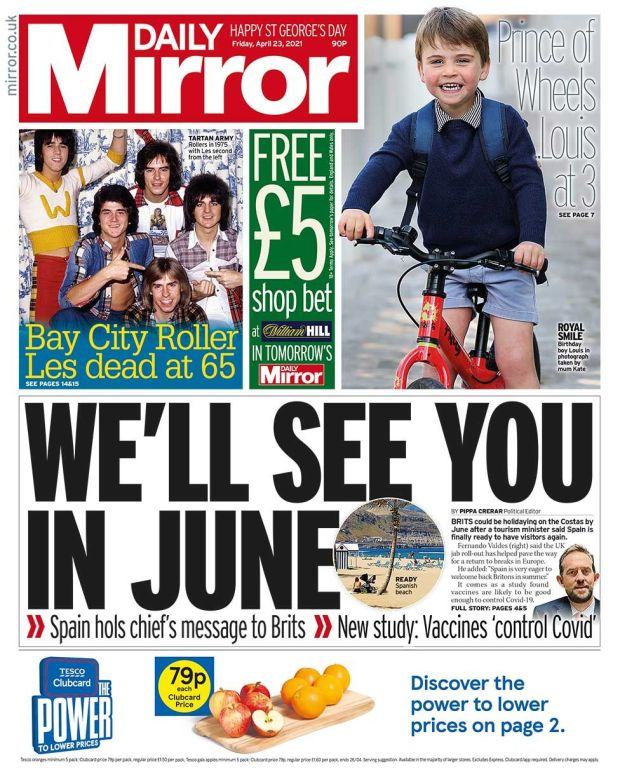 Mirror front page 23.04.21