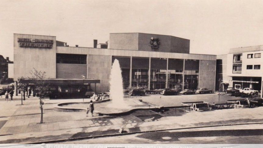 The Belgrade Theatre from around the time